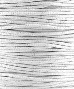 Waxkoord 2.0mm Wit (1M)