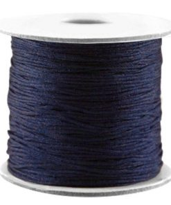 Macrame draad Dark Blue 0,7mm
