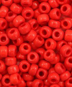 Miyuki rocailles 6/0 Opaque red 6-408
