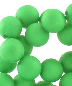 10mm acryl kralen matt Licht groen