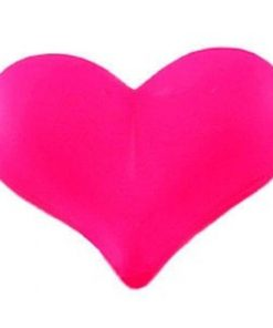 Acryl hart fuchsia