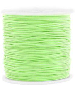 Macramé draad 0.8mm Mint green