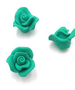 Fimo kraal roos Groen10mm