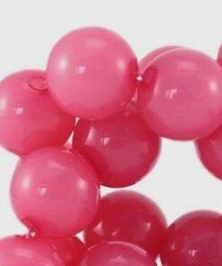 Acryl kralen roze 10mm