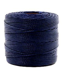 Nylon S-Lon rijgdraad 0.6mm Dark navy blue