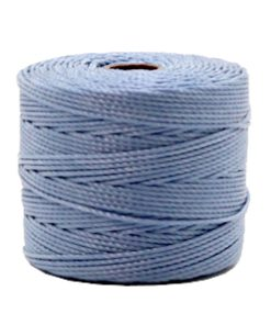 Nylon S-Lon rijgdraad 0.6mm Pale blue